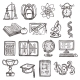 School Education Sketch Icons - GraphicRiver Item for Sale