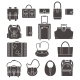 Bags Icons Set - GraphicRiver Item for Sale