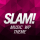 SLAM! Music Band, Musician and Dj Wordpress Theme - ThemeForest Item for Sale