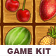 Match 3 Game Kit: Fruits - GraphicRiver Item for Sale