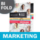 Marketing Bifold / Halffold Brochure - GraphicRiver Item for Sale