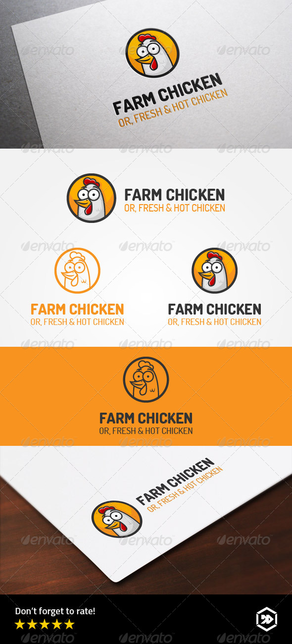 GraphicRiver Farm Chicken or Hot and Fresh Cicken 8767096