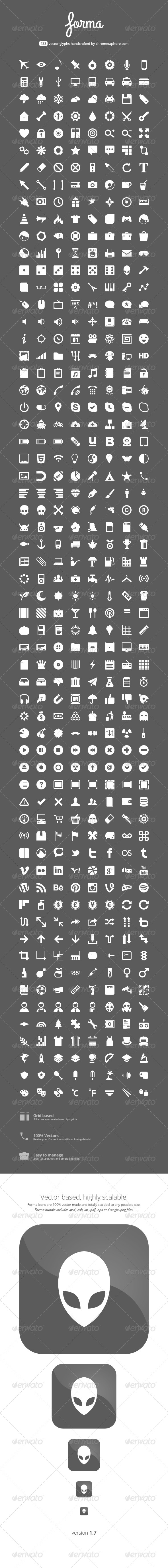 Forma - 488 Icons - Icons