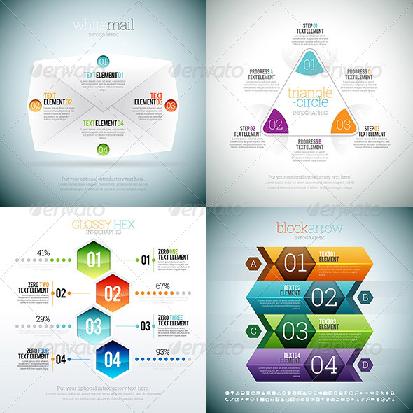 GraphicRiver Infographic 2 Set 8767154