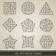 Maze Labyrinth Set - GraphicRiver Item for Sale