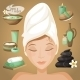 Woman in Spa - GraphicRiver Item for Sale