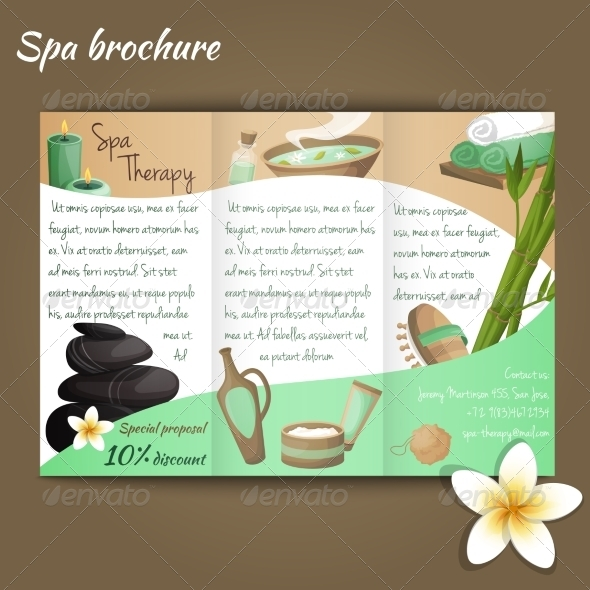GraphicRiver Spa Salon Brochure 8767419