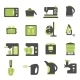 Icons with Kitchen Utensils - GraphicRiver Item for Sale