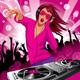 DJ Girl - GraphicRiver Item for Sale