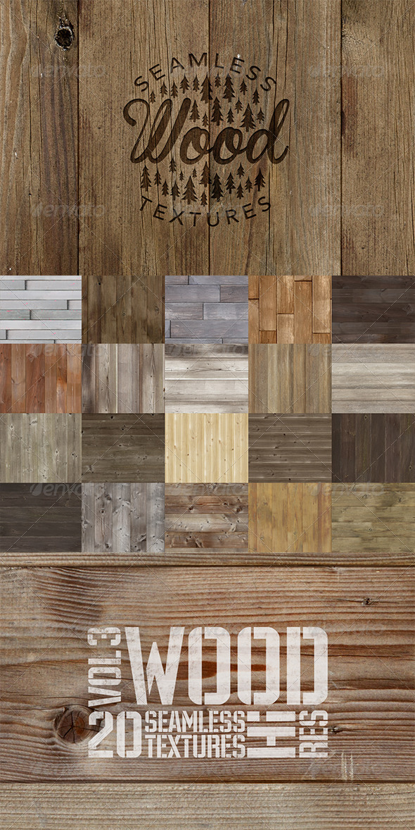 GraphicRiver Wood Texture Pack 2 8768179