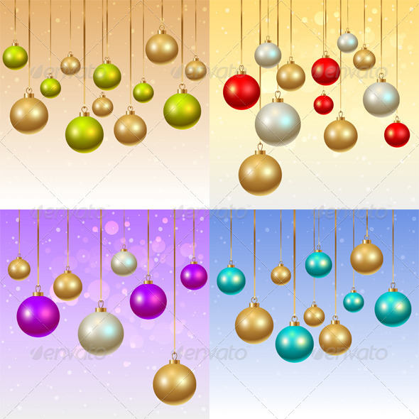GraphicRiver Christmas Backgrounds 8768319