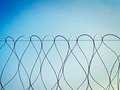 barbed wire against the sky - PhotoDune Item for Sale
