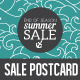 End of Season Summer Sale Postcard/Mailer - GraphicRiver Item for Sale