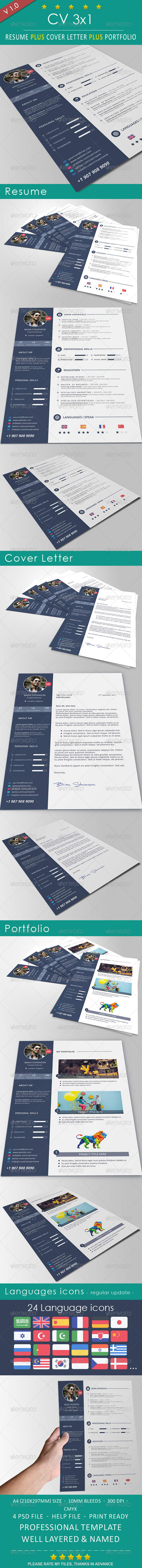 GraphicRiver CV 8731682