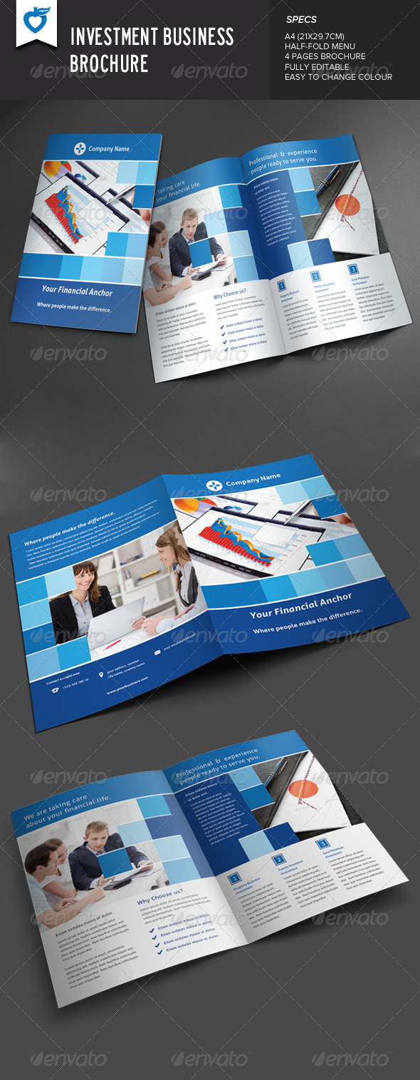 GraphicRiver Investment Business Brochure 8769279