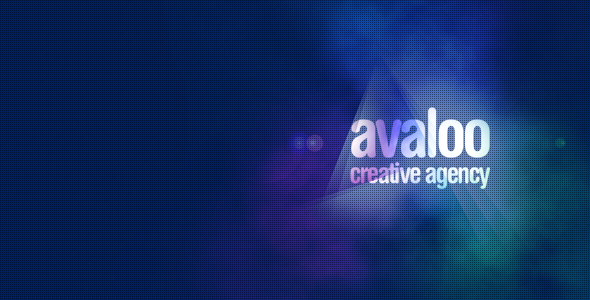 ThemeForest avaloo One Page Creative Agency Template 7487810