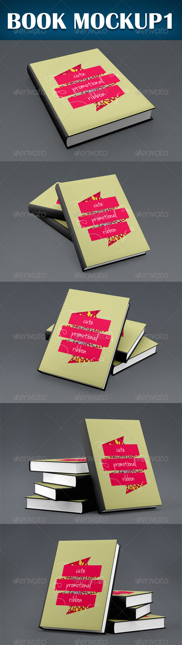 GraphicRiver Book Mockup 8769857