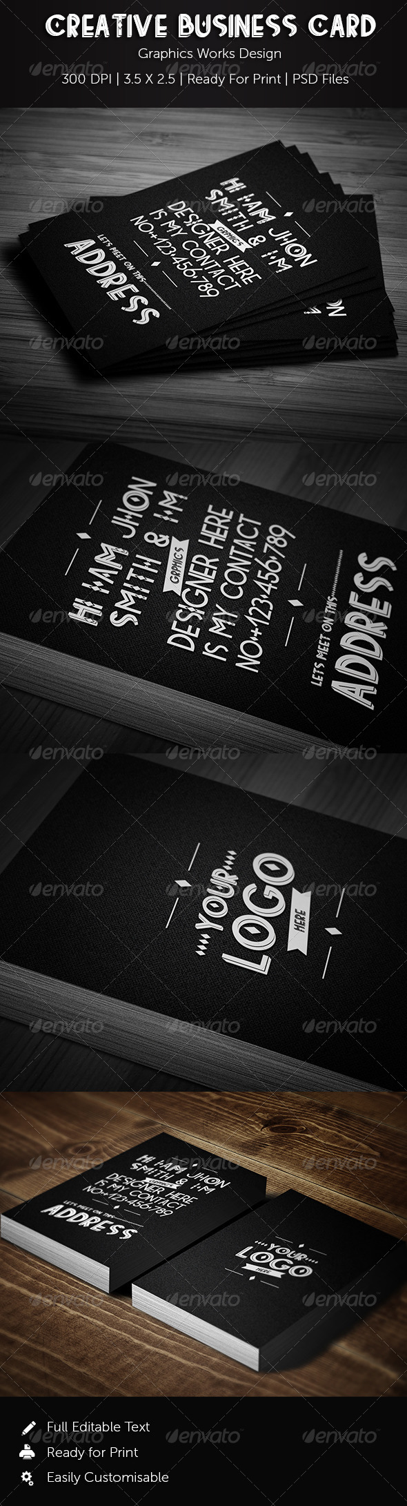 GraphicRiver Creative Business Card 01 8769884