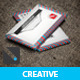 Creative Letter Style Simple Business card - GraphicRiver Item for Sale