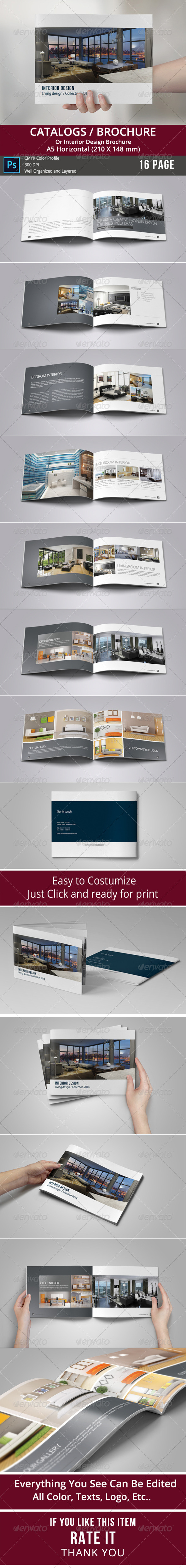 GraphicRiver Catalogs Brochure 8770424