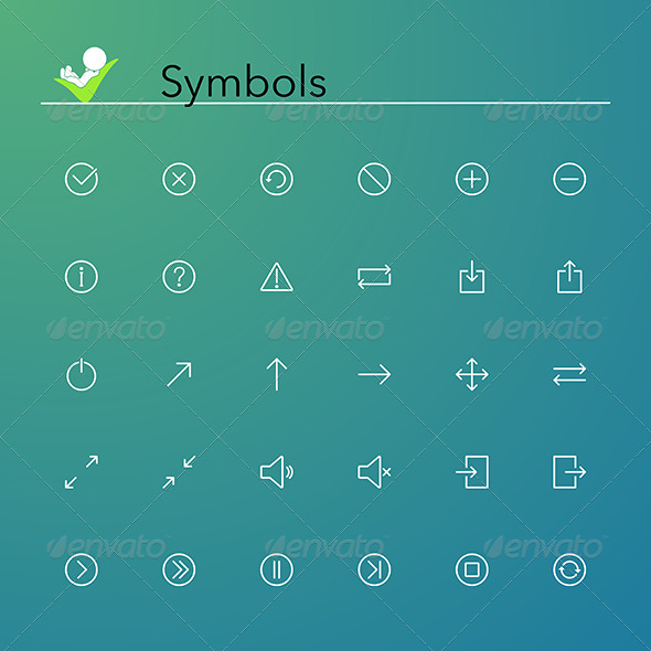 GraphicRiver Symbols Icons 8770687