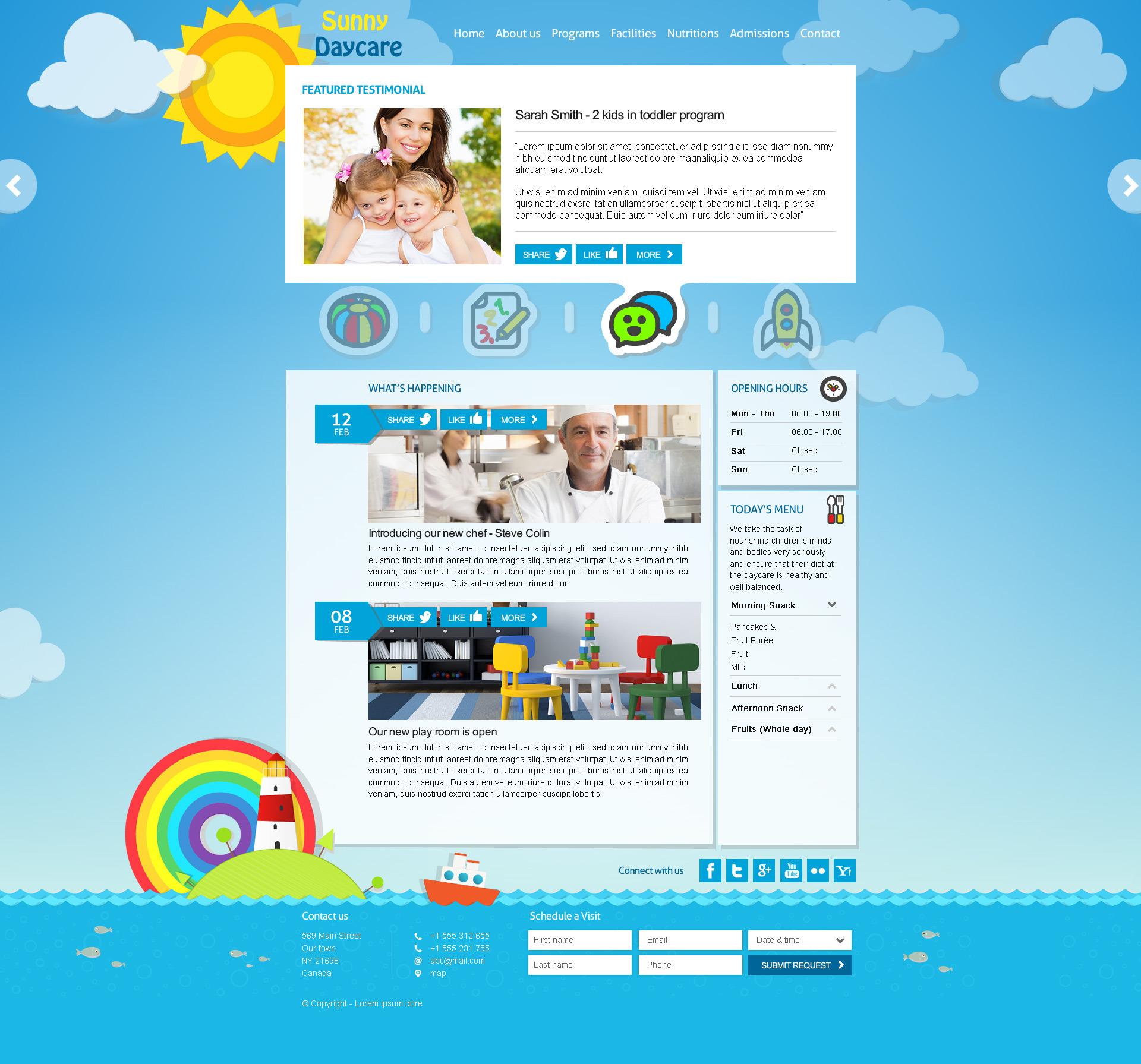 daycare responsive kindergarden html template by themeplayers daycare responsive kindergarden html template