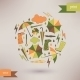 Autumn Abstract Vector Background - GraphicRiver Item for Sale