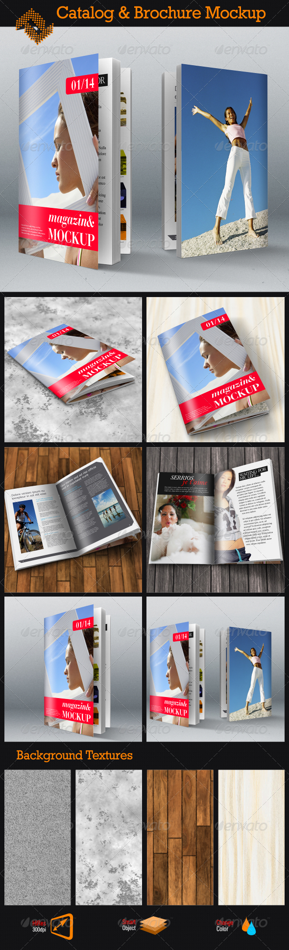 GraphicRiver Brochure Catalog Mockup 8771154