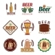 Beer Colored Emblems - GraphicRiver Item for Sale