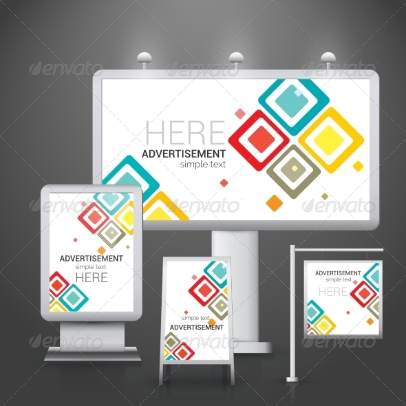 GraphicRiver Outdoor Advertising Design 8771293