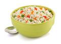 bowl full of rice on white - PhotoDune Item for Sale