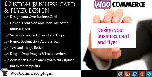 CodeCanyon WooCommerce Business Card & Flyer Design 8771618