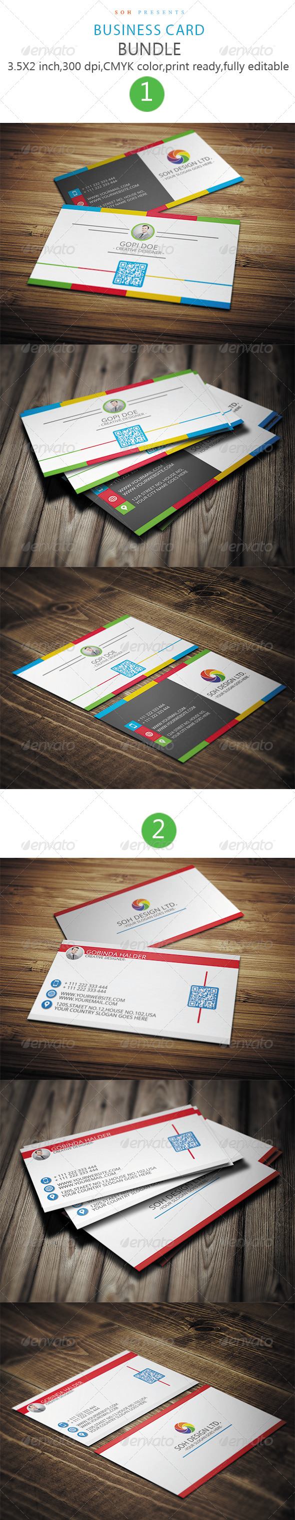 GraphicRiver Business Card Bundle 8771624