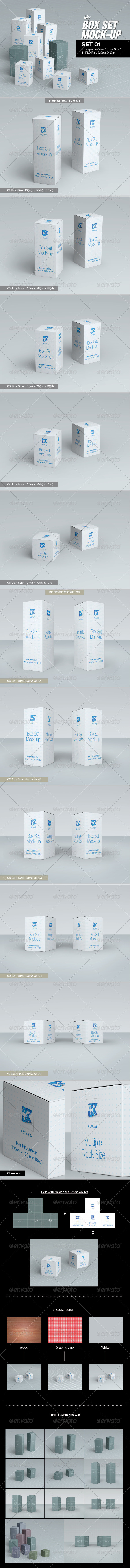 GraphicRiver MyBox Set Mock-up 01 8764421