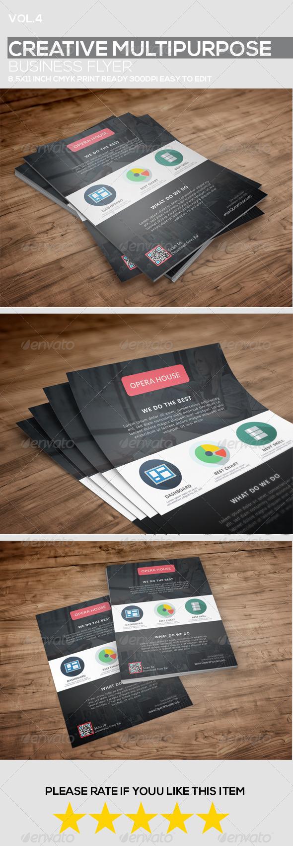 GraphicRiver Creative Multipurpose Business Flyer vol.4 8772171