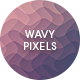 Wavy Pixels Backgrounds - GraphicRiver Item for Sale
