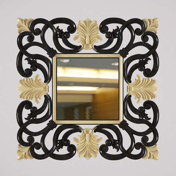 Nabucco Devon&Devon Mirror - 3DOcean Item for Sale