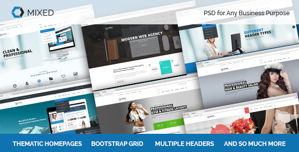 Mixed PSD for Any Business