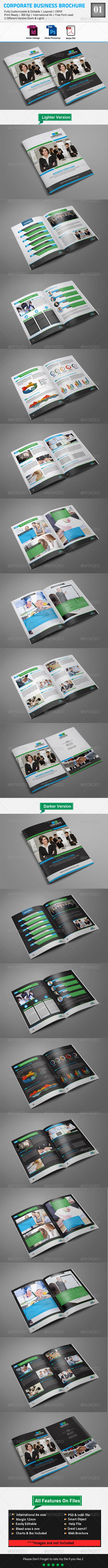 GraphicRiver Corporate Business Brochure 01 8759544