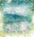 Watercolor Abstract Image Of  Mountains - PhotoDune Item for Sale