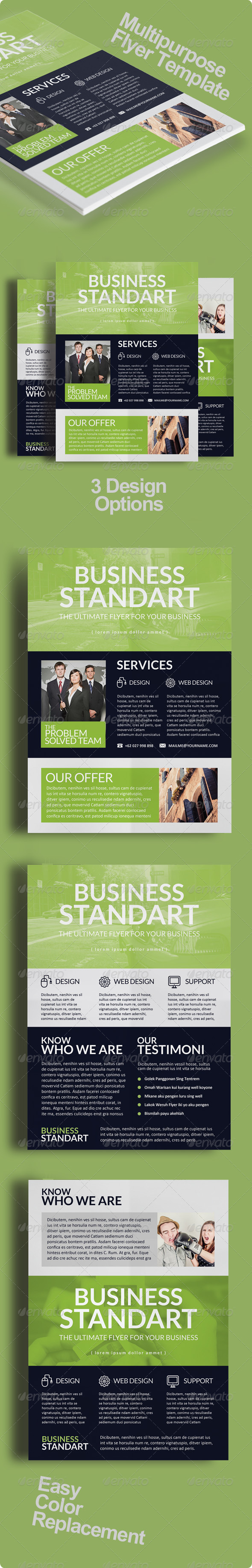 GraphicRiver Multipurpose Business Flyer Vol 6 8772921
