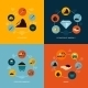 Mining Icons Flat Composition - GraphicRiver Item for Sale