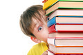 Surprised Kid behind the Books - PhotoDune Item for Sale