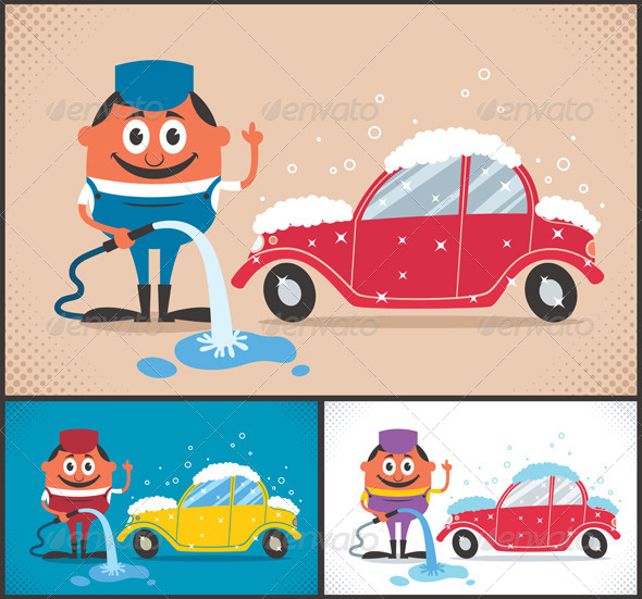 GraphicRiver Car Wash 8773345