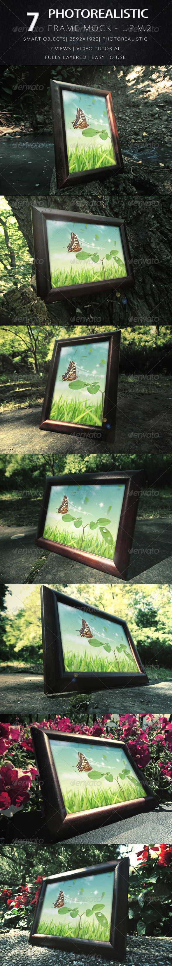 GraphicRiver Photorealistic Frame Mock Up Vol.2 8766069