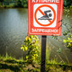 sign, which prohibits swimming - PhotoDune Item for Sale