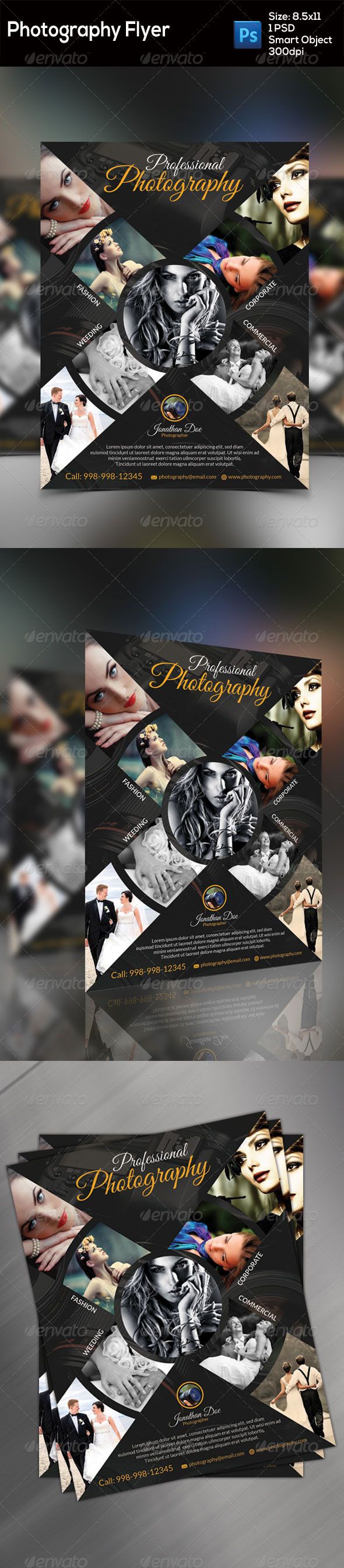 GraphicRiver Photography Flyer 8773862