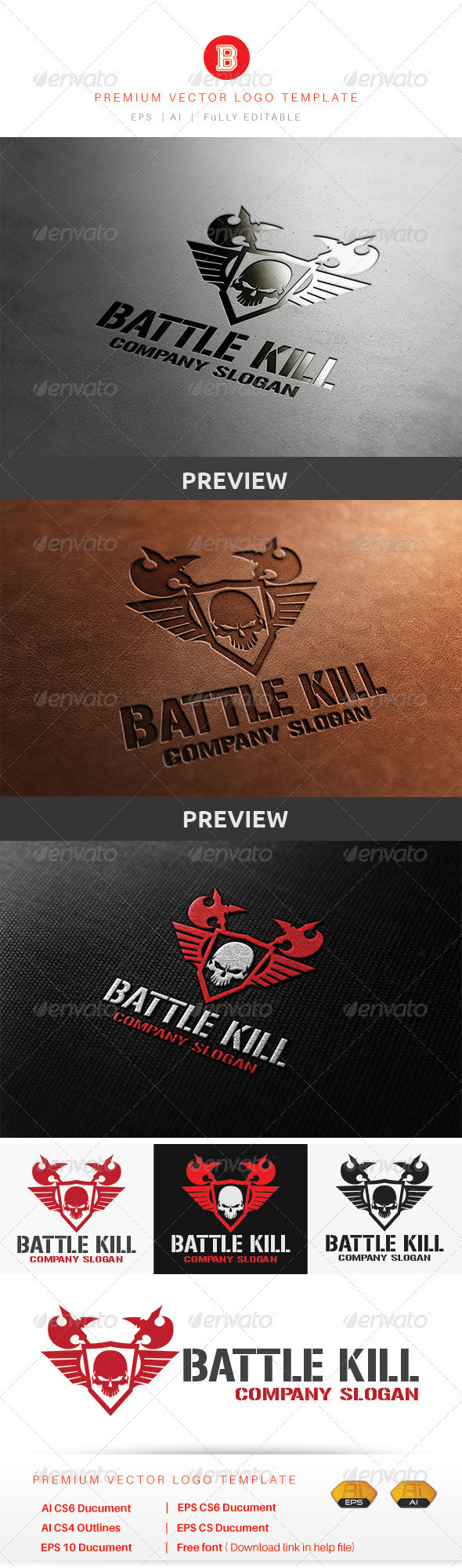 GraphicRiver Battle Kill 8774132