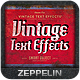 Vintage Text Effects Vol.5 - GraphicRiver Item for Sale