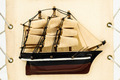Wooden Ship Figurine - PhotoDune Item for Sale